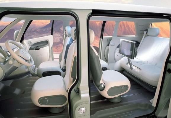 le bulli pour 2012 concept car du combi vw. Black Bedroom Furniture Sets. Home Design Ideas