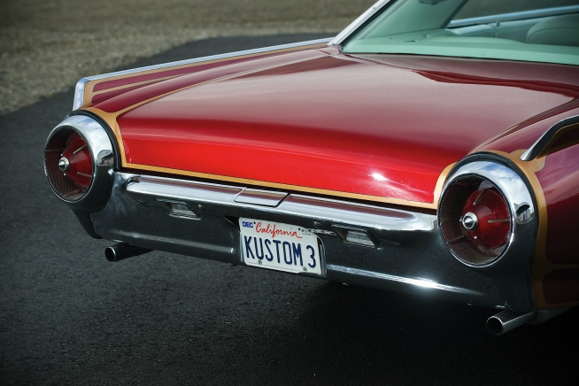 As Customs Go It Is Hard To Improve On A Sleek 1961 Ford Thunderbird Coupe With Its Build Orchestrated By John DAgostino Who Has Been Instrumental In