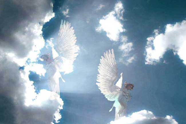 """Résultat de recherche d'images pour """"pluie d'ange dans le ciel"""""""