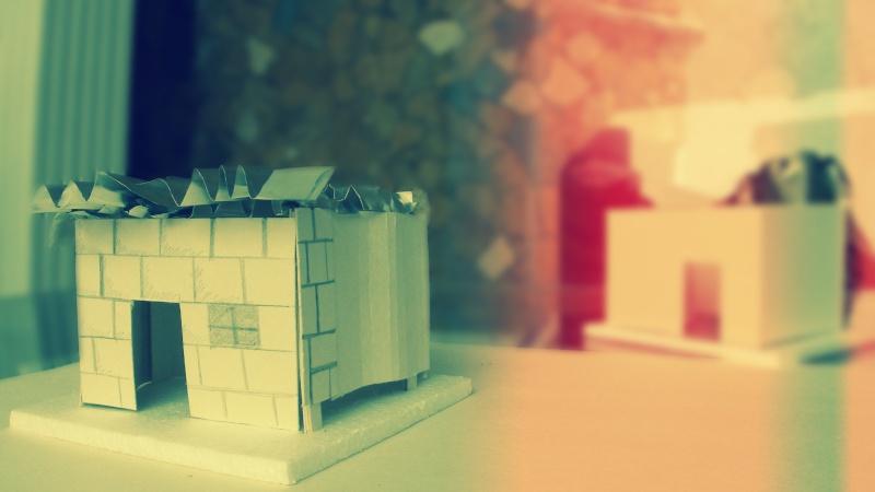 Taller de construccion 2 fotos maqueta final mobiliario for Mobiliario b ru